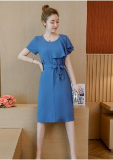 GSS323X Dress $19.15  blue,black,orange
