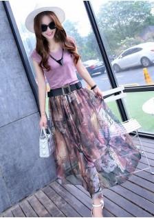 GSS8039X Top+Skirt*
