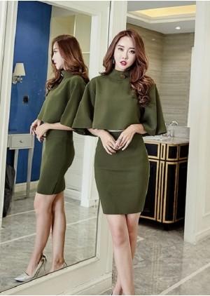 GSS1369X Top+Skirt .