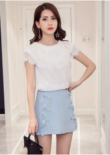 GSS6623X Top+Skirt*