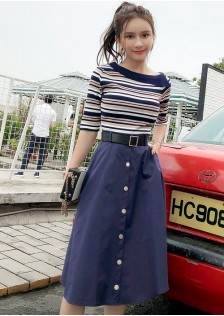 GSS6563X Top+Skirt*