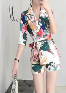 GSS9580X Top+Shorts *