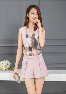 GSS1066X Top+Shorts*
