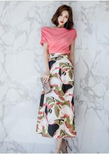 GSS7488X Top+Skirt*