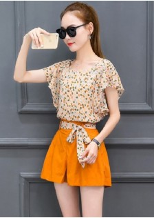 GSS325X Top+Shorts *