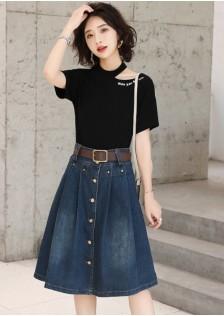 GSS8556X Top+Skirt*