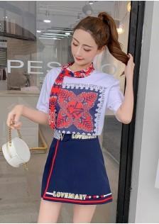 GSS8518X Top+Skirt *