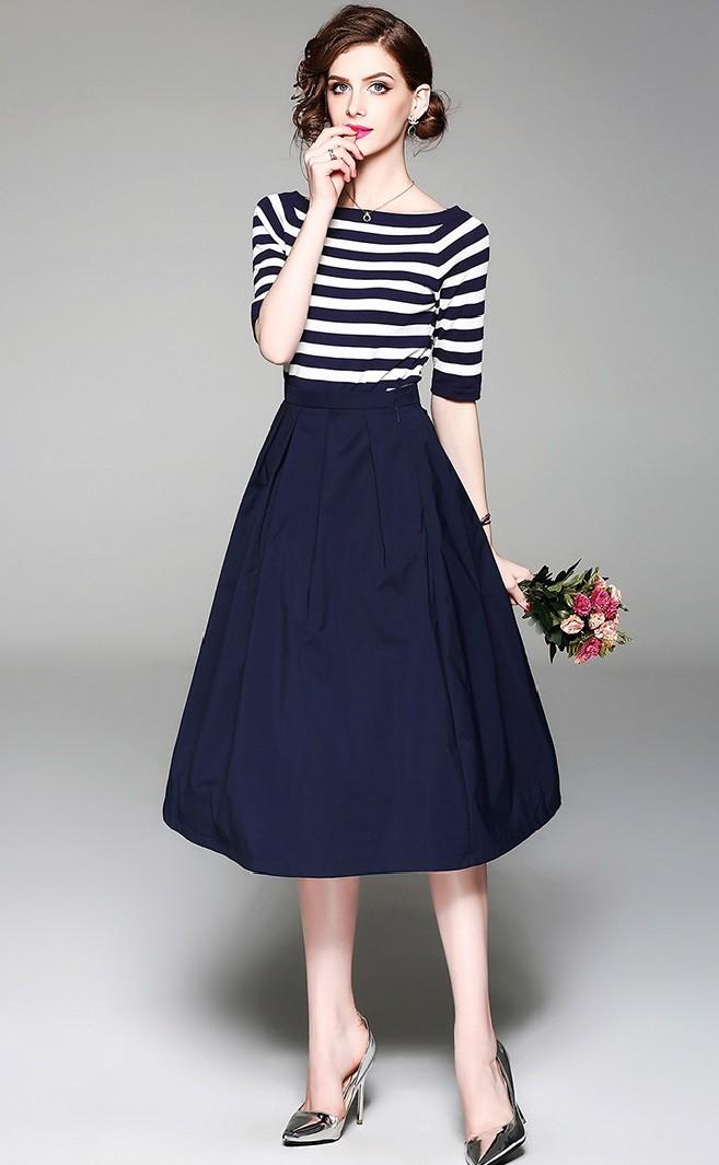 GSS9544X Top+Skirt .***