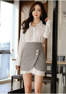 GSS9216X Top+Skirt *