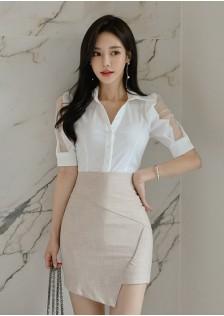 GSS2357X Top+Skirt *