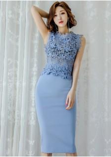 3 GSS7598X Top+Skirt $25.50 BLUE 68XXX15679746-LA1LVE49-A