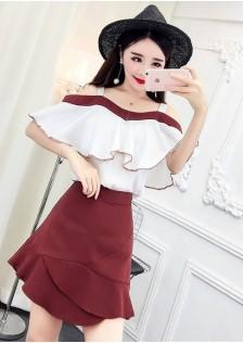 GSS6904X Top+Skirt*