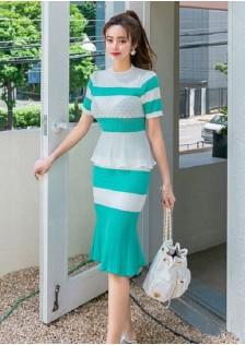 GSS7644X Top+Skirt*