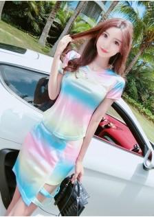 GSS1385X Top+Skirt *