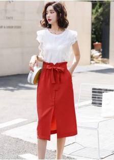 GSS8758XX Top+Skirt *