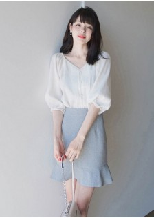 GSS1028XX Top+Skirt *