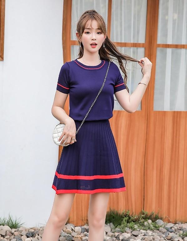 GSS8118XX Top+Skirt*