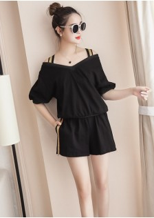 GSS786XX Top+Shorts*