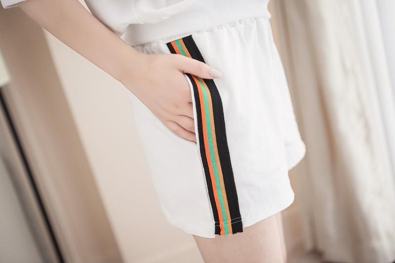 GSS786XX Top+Shorts*
