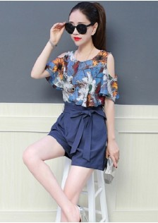 GSS898XX Top+Shorts *