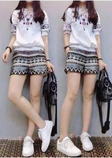 GSS8856XX Top+Shorts *