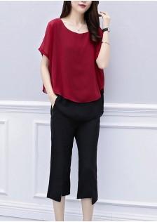 GSS6562XX Top+Pants*