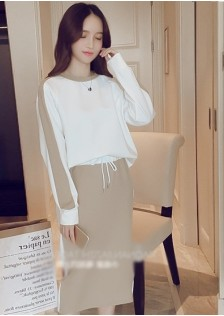 GSS6467XX Top+Skirt *