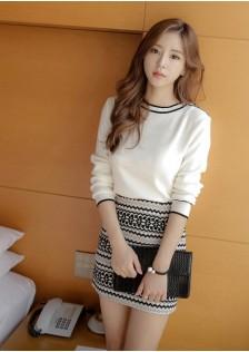 GSS119XX Top+Skirt*