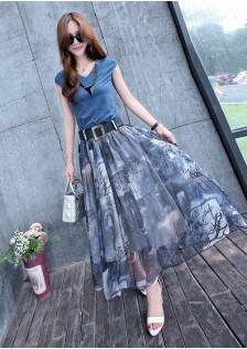 GSS9305XX Top+Skirt *