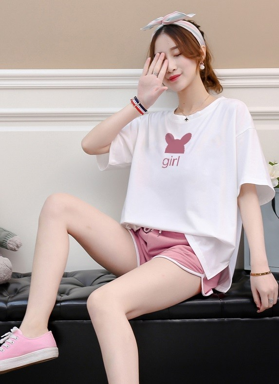 GSS7027XX Top+Shorts*