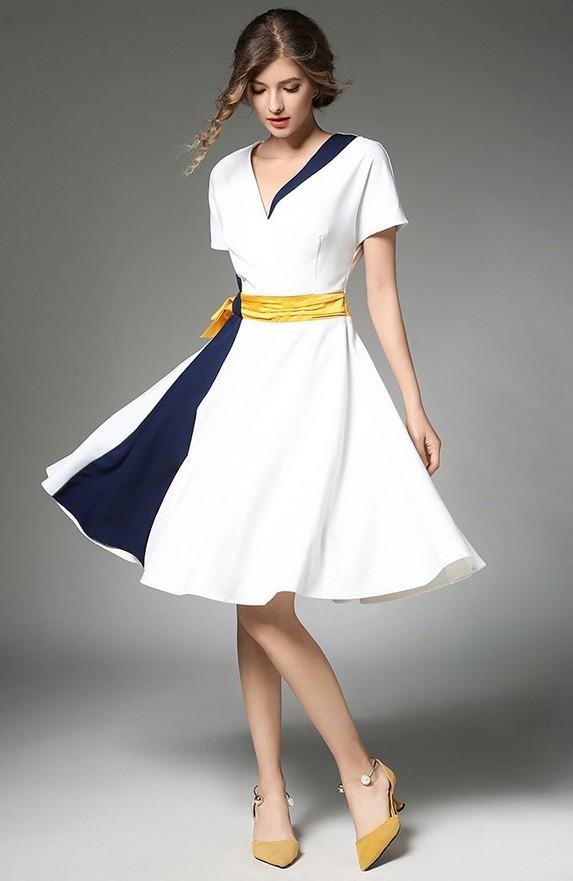 GSS9398 Dress white $25.85 85XXXX5823542-LA6LV618