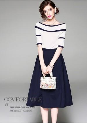 GSS9543X Top+Skirt.***
