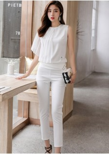 GSS6056 Top+Pants white,black $21.50 65XXXX8378317-LA2LVA02-A1