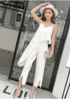 GSS7507 Top+Pants white,black $19.80 60XXXX8187736-NU4LV459-D