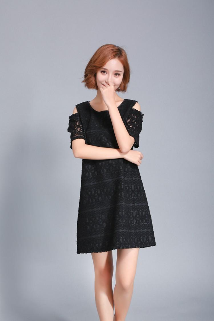 GSS10280 Off-Shoulder-Dress black $16.41 29XXXX3817448-BT1LV04-A