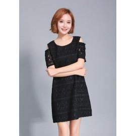GSS10280 Off-Shoulder-Dress ***