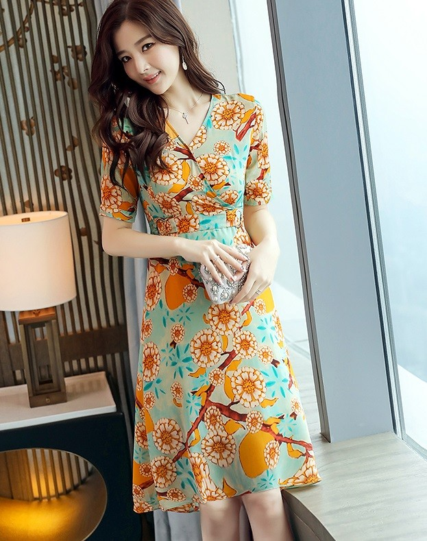 GSS585 Office-Dress yellow,red,green $17.64 35XXXX5451449-SD5LV518