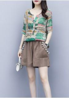 GSS5464XX Top+Shorts