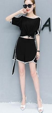 GSS6398XX Top+Shorts