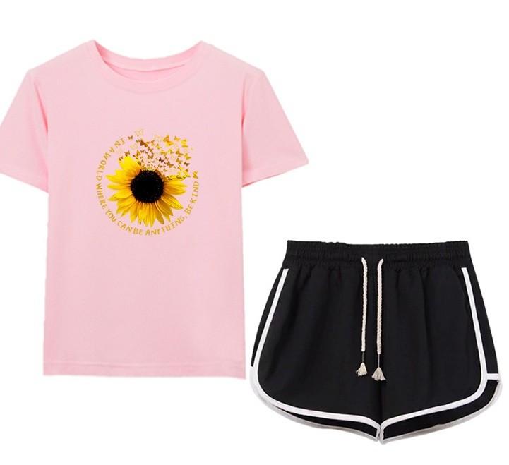 GSS9513XX Top+Shorts