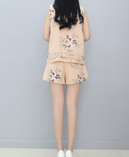 GSS774XX Top+Shorts