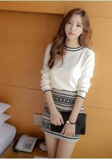 GSS119XX Top+Skirt