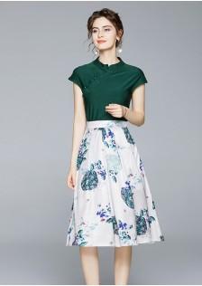 GSS1086X Cheongsam-Top+Skirt