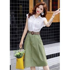 JNS9208X Top+Skirt ***