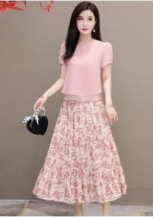 JNS0925X Top+Skirt
