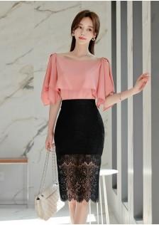 JNS2097X Top+Skirt