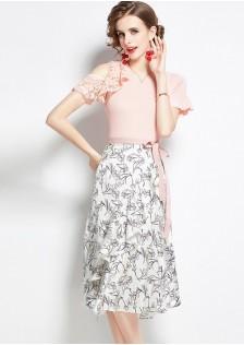 JNS9776X Top+Skirt