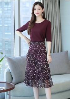 JNS8981X Top+Skirt