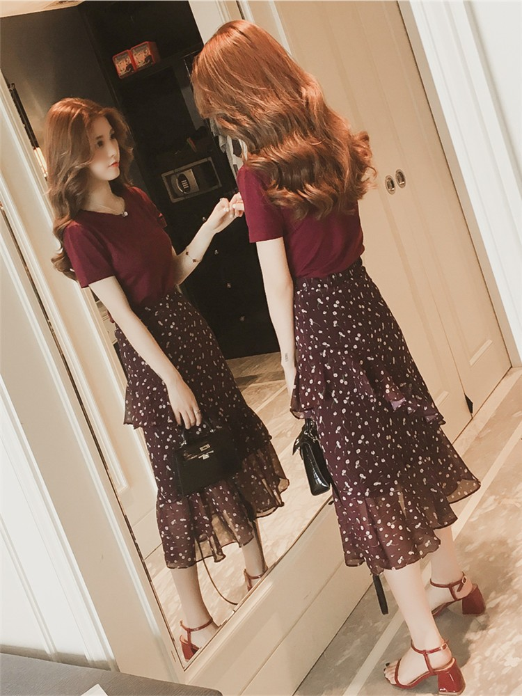 JNS6626X Top+Skirt