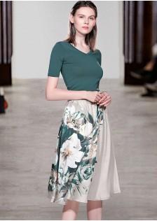 JNS9716X Top+Skirt